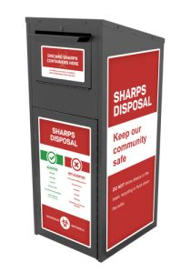 American-rx-group-products-medication drop box-custom-kiosk-Sharps