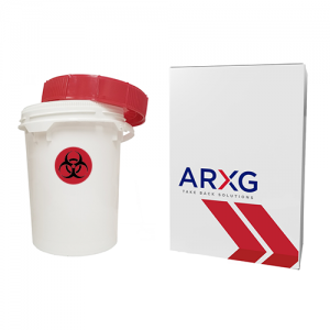 5 Gallon Sharps Mail-In Take Back Container
